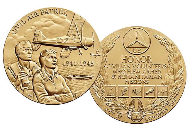 Congressional Gold Medal for Civil Air Patrol World War 2 members